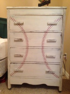 DIY Baseball Bedroom