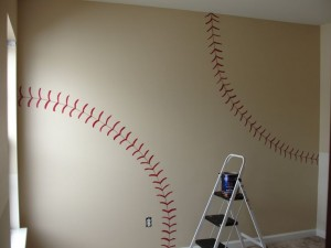 Diy Baseball Bedroom Tips From Town Sches Wall Decals
