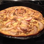 Cornbread w/Caramelized Apples & Onions