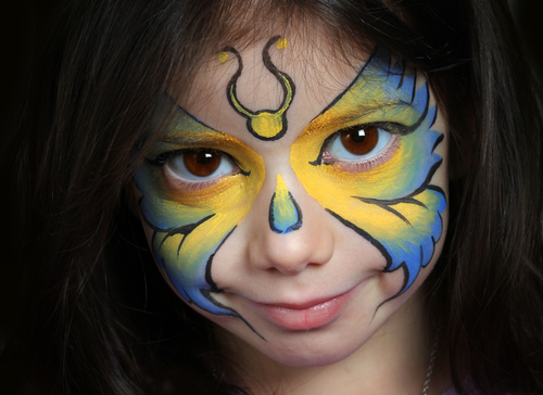 Gallery For &gt Simple Halloween Makeup For Kids - Simple Halloween Makeup For Kids