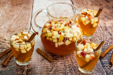 Apple-Cider Sangria
