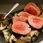 Roast Beef Tenderloin w/Mushroom Madeira Sauce