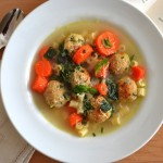 Chicken Meatball Minestrone