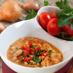 Tuscan White Bean Soup(can be Gluten Free)