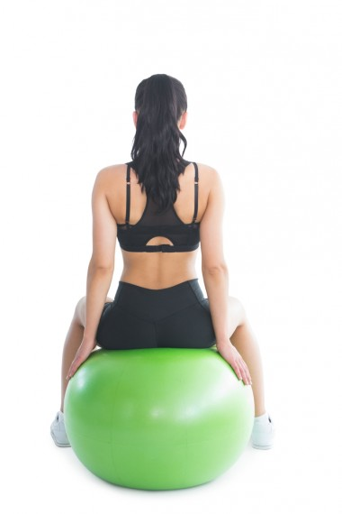 Move of the week, exercise, abs, core, back, obliques, fitness ball, physio ball, proprioception, balance, sitting on ball, balance on ball, posture, tips from town