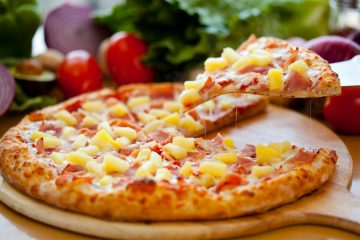 BBQ Ham & Pineapple Pizza