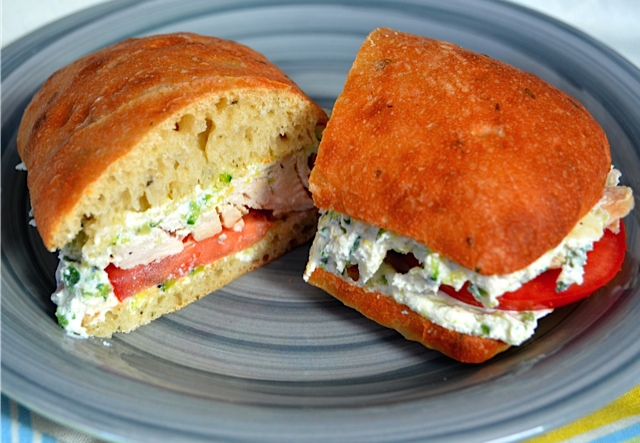 Roasted Chicken, Zucchini & Ricotta Sandwiches | Tips From ...