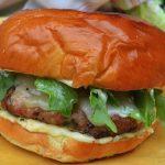 Grilled Pork Burgers w/Aioli