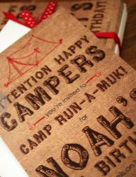 camping invite