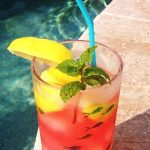 Raspberry Lemonade Cooler