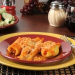 Ricotta & Fontina Stuffed Shells +