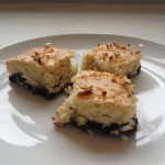 Black Bottom Coconut Bars-Can Be Gluten Free
