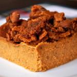 Pumpkin Custard w/Cookie Crumble