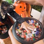Kids Health, Nutrition, Halloween, healthy nutritional, treats, trick or treating, non-edible treats, organic treats, food choices, cash for candy, FARE, Teal Pumpkin Project, food allergies, tips, safety, tips from town