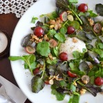 Grape & Watercress Salad with Caraway & Granola