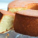 Lincoln's Vanilla-Almond Cake