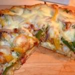 Mardis Gras Pizza