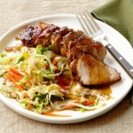 Black & Tan Pork w/Spicy Ale Slaw
