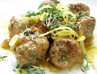 Pork & Sage Meatballs