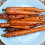 Grilled Balsamic Rosemary Carrots