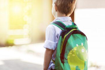 school child backpack