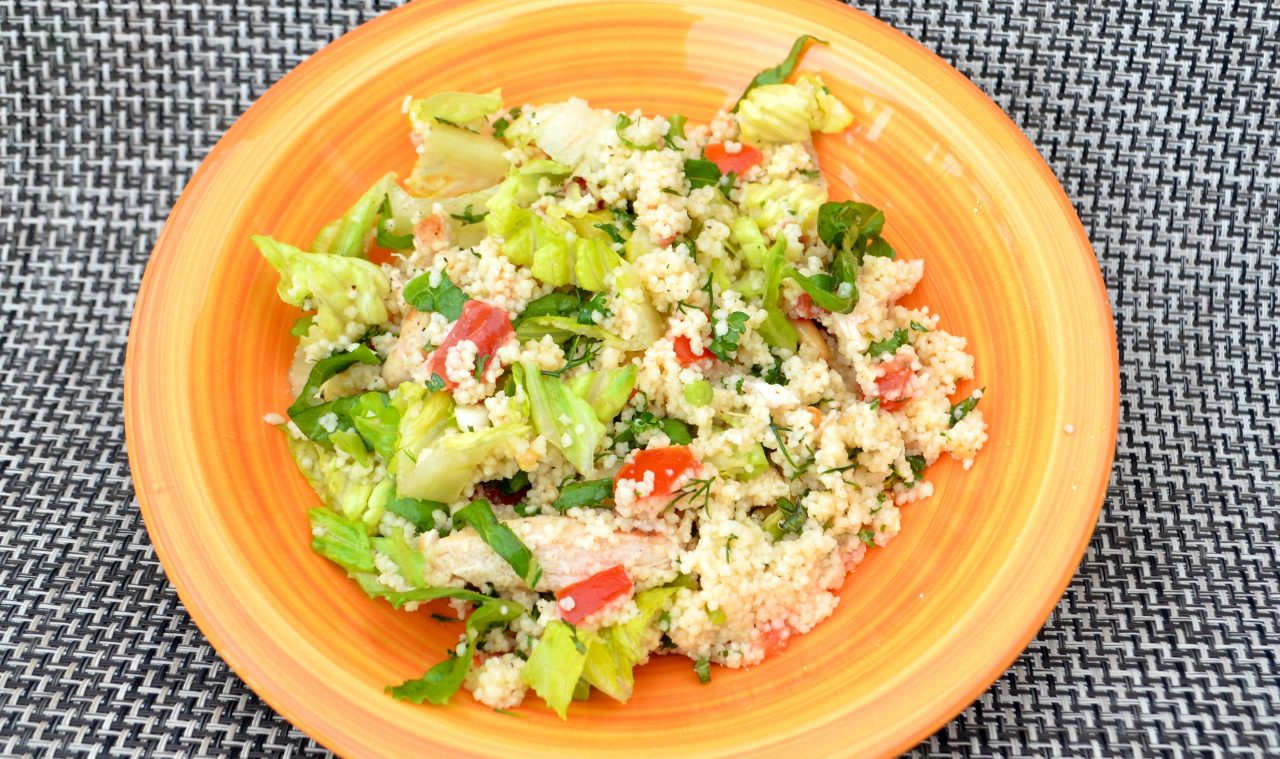 Chicken & Couscous Salad