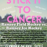 Ramsey Field Hockey and Ice Hockey play for Cancer Fundraiser