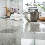 Replacing old countertops with granite or marble gives an instant face lift to a tired kitchen.
