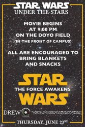 star wars under the stars