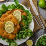 Lemon & Thyme Pork Schnitzels