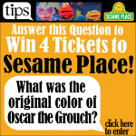 Win 4 Tickets for Sesame Place!