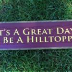 IT'S HILLTOPPER WEEKEND!