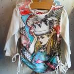 The Alice in Wonderland shirt by Little Skye.