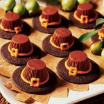 PILGRIM HAT COOKIES–easy enough for your kids to make