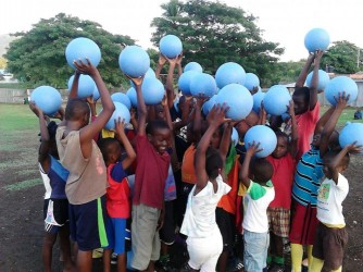 Donate a ball for $25.