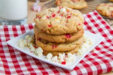 Peppermint White Chocolate Chip Cookies 500 9568