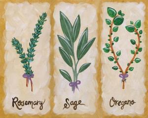 Kitchen Herbs Whats Happening RIdegwood
