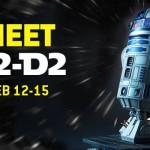 R2D2 4-day Star Wars Party at Liberty Science Center