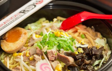 Ramen noodle bowl.