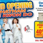 Tae Kwan Do now in Chatham Township