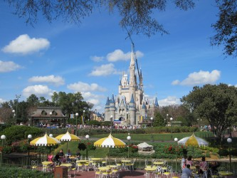 Cinderella Castle Disney World