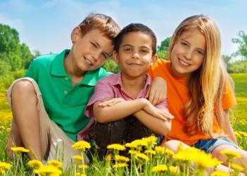 Kids outside