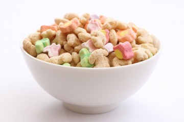 lucky charms, cereal