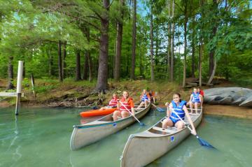 Falcon Camp Canoe