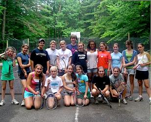 Falcon Camp Tennis Group