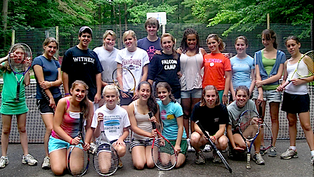 Falcon Camp Tennis Group