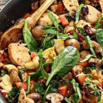 One-Skillet Mediterranean Chicken