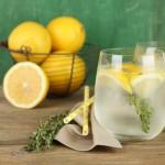 Tequila-Thyme Lemonade