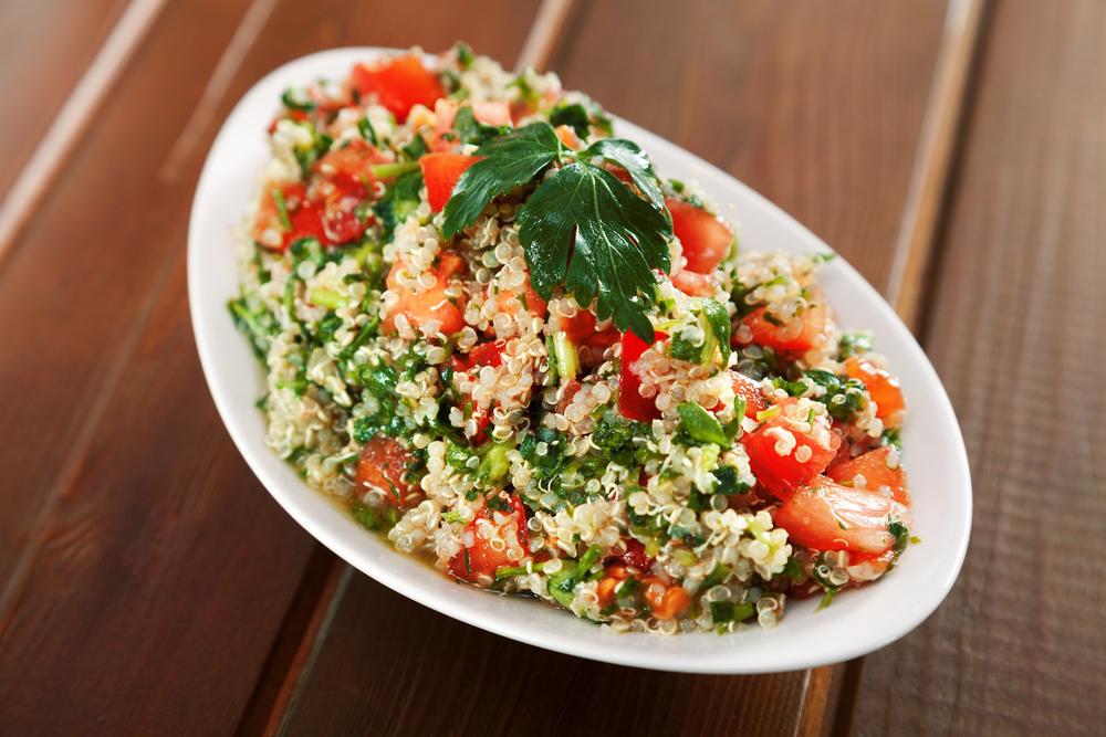 quinoa, tabuleh