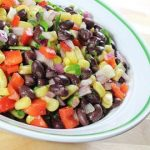 Healthy Tri-Bean Cilantro Salad
